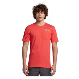 Hurley Men's Plate Lunch Pocket Short Sleeve T Shirt