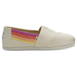 Toms Girl's Alpargata Youth Casual Shoes Birch Horizon