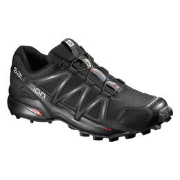 Salomon Men's Speedcross 4 Trail Running Shoes Black