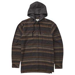 Billabong Men's Baja Flannel Hoodie Shirt