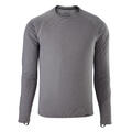 Patagonia Men's Capilene Midweight Crew Long Sleeve Grey
