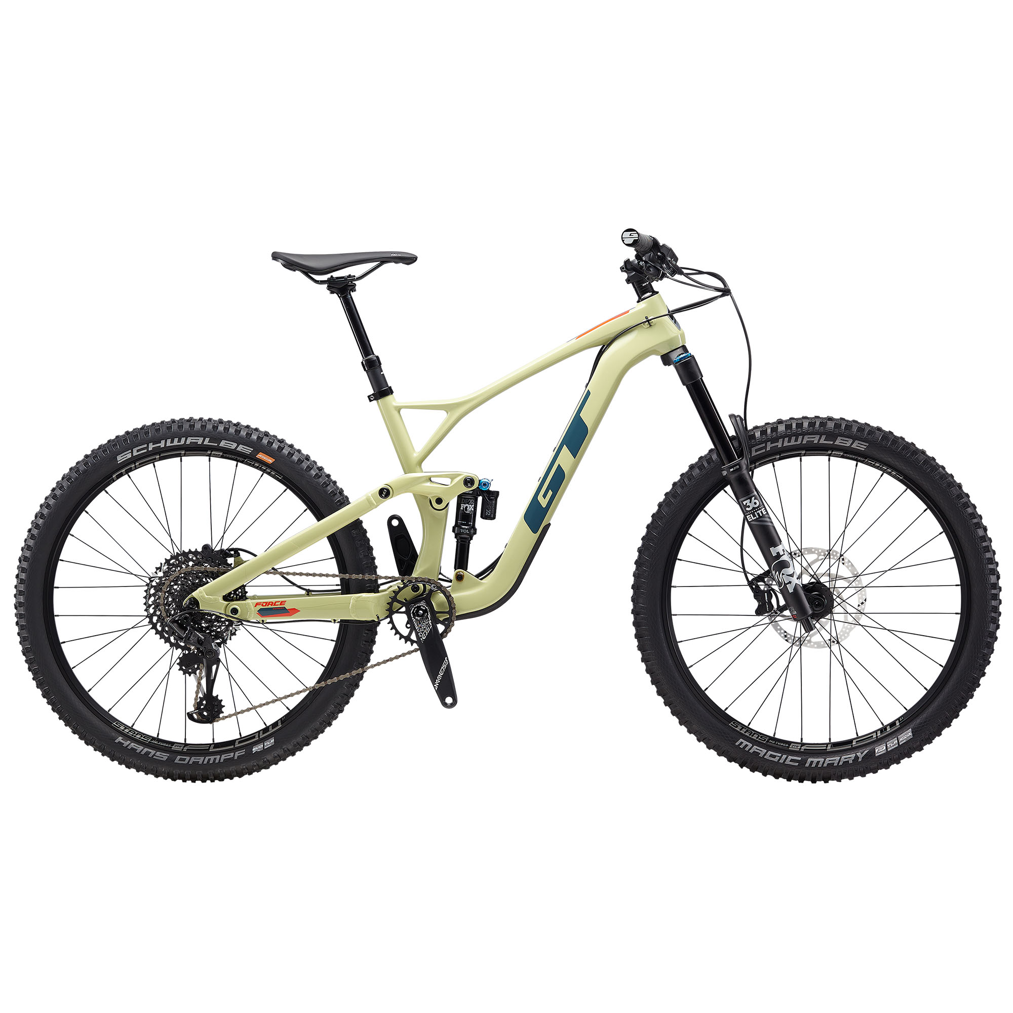GT Bicycles Men's Force Carbon Expert 27.5 Mountain Bike '20 -  00038675179837