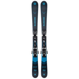 Blizzard Boy's Rustler Twin Jr Skis With Jr 4.5 WB Bindings '21