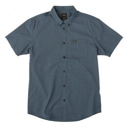 Rvca Men's That'll Do Mircro Short Sleeve Shirt