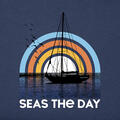 Life Is Good Men's Seas The Day Sailboat Cr