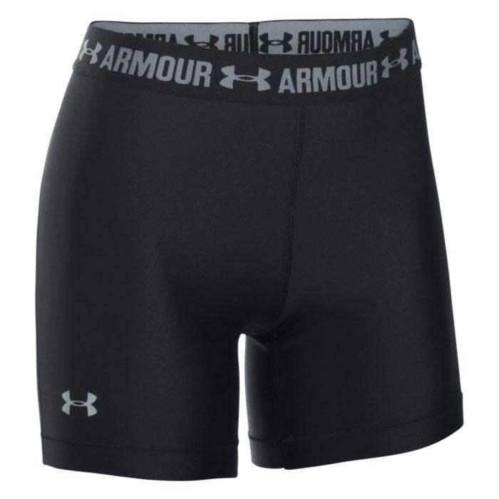 Under Armour Women's HeatGear Armour Middy Shorts