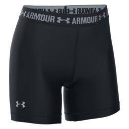 Under Armour Women's HeatGear Armour Middy Shorts