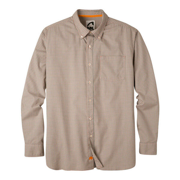 Mountain Khakis Men's Uptown Tattersall Lon