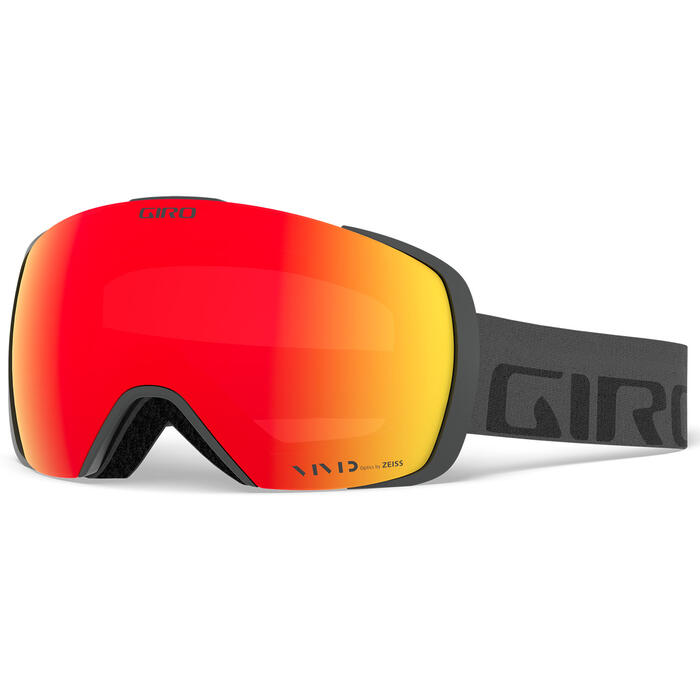 Giro Men's Contact Goggles W/ Vivid Ember L