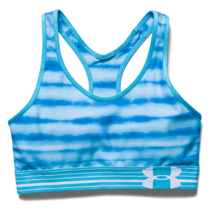 Under Armour Women's Armour Mid Printed Sports Bra