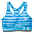 mid printed sports bra