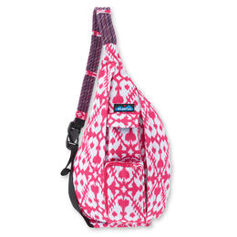 Kavu Women's Rope Sling Backpack Pink Blot