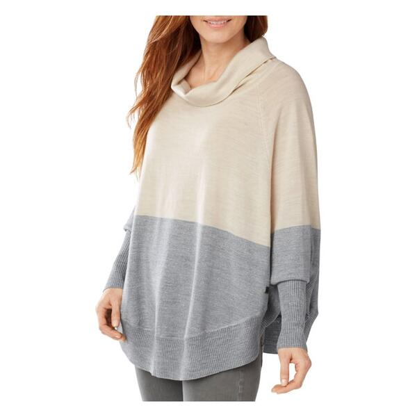 Smartwool Women's Nokoni Color Block Sweater Poncho