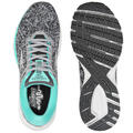 Brooks Women's Launch 5 Grey/Aqua Running S