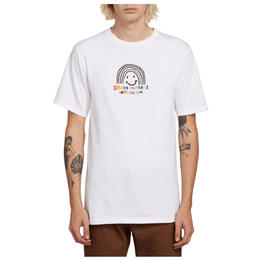 Volcom Men's Ozzie Rainbow Short Sleeve Tee Shirt