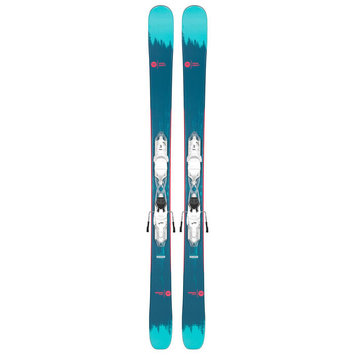 Rossignol Women's Sassy 7 Skis with Xpress