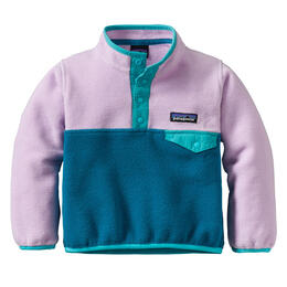 Patagonia Baby Girl's Synchilla Snap-T Pullover