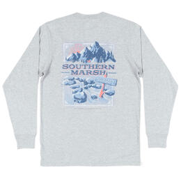 aaf6f444685 Southern Marsh Men s Mountain Weekend Long Sleeve Tee Shirt