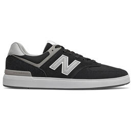 New Balance Men's 574 Running Shoes Black/Grey