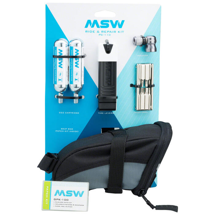 MSW Ride Repair Kit w/CO2