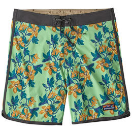 "Patagonia Men's Scallop Hem Stretch Wavefarer® 18"" Boardshorts"