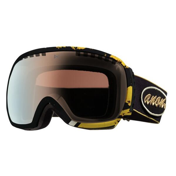 Anon Comrade Goggles With Gold Chrome Lens