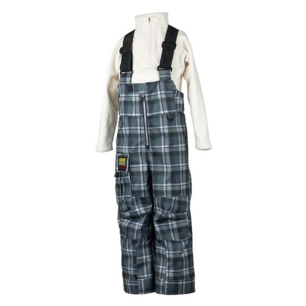 Obermeyer Toddler Boy's Plaid Volt Suspender Ski Pant