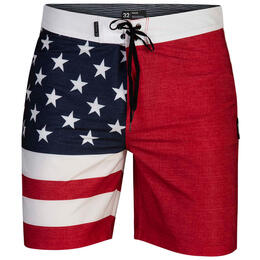 Hurley Men's Phantom Patriot Boardshorts