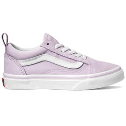 Vans Girl's Old Skool Elastic Lace Casual Shoes