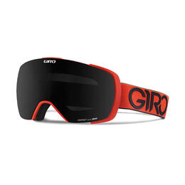 Giro Contact Snow Goggles With Black Limo/Persimmon Blaze Lens