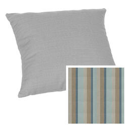 Casual Cushion Square 15x15 Gateway Mist Throw Pillow