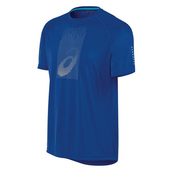 Asics Men's Soukai Graphic Short Sleeve Running Shirt