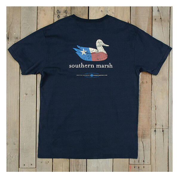 Fron ot Southern Marsh Men's Authenic Heritage Tee Shirt