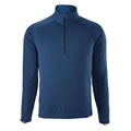Patagonia Men's Capilene Midweight Zip-Neck Long Sleeve Top Blue