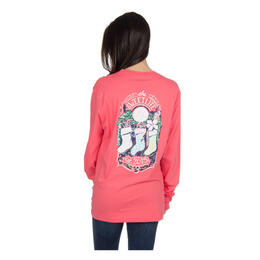 Lauren James Women's TSL Christmas Tee Long