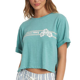 Roxy Women's Blocky Biscus SHC T Shirt