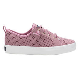 Sperry Girl's Crest Vibe Perf Rose Sneakers
