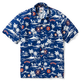 Reyn Spooner Men's Houston Astros MLB® Vintage Rayon Shirt