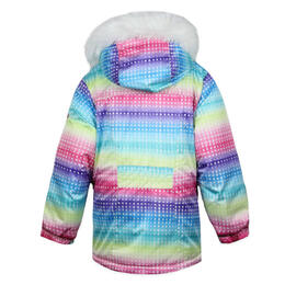 Snow Dragons Toddler Girl's Nova Insulated Jacket