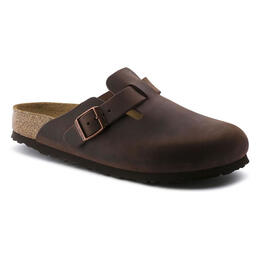 Birkenstock Women's Boston Soft Leather Clogs