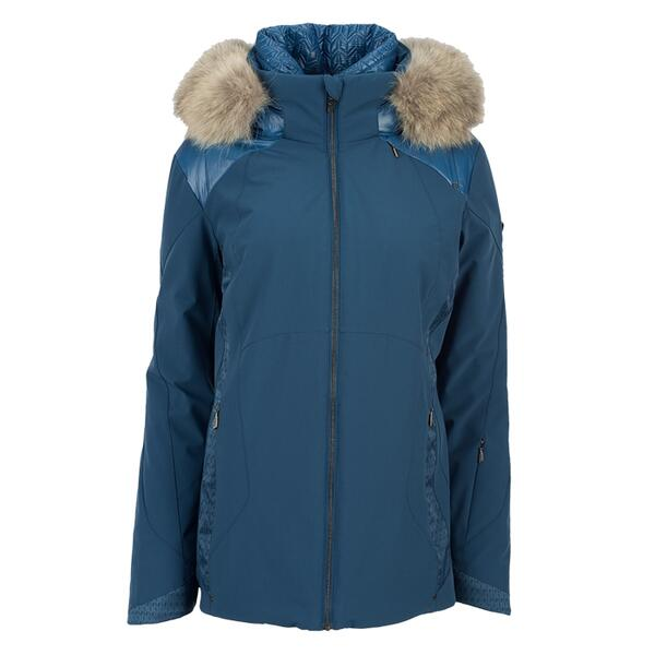 Spyder Women's Diamond Real Fur Insulated Jacket