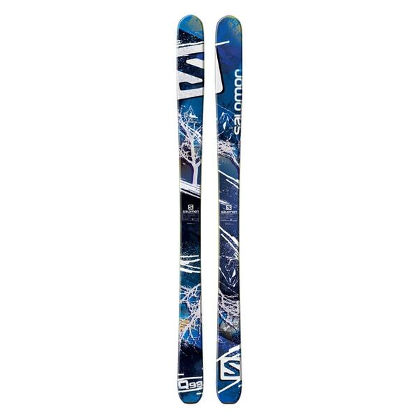 Salomon Men's Quest 98 All Mountain Skis '14 - Flat