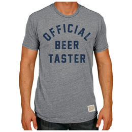 Original Retro Brand Men's Official Beer Taster T Shirt