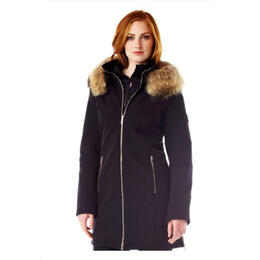 M Miller Women's Astrid Snow Jacket With Natural Fur Trim