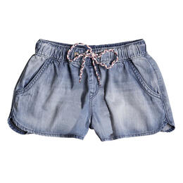 Roxy Girl's Music Never Stops Denim Shorts