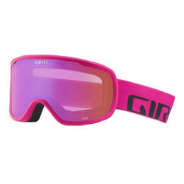 Giro Women's Cruz Snow Goggles With Amber Pink Lens