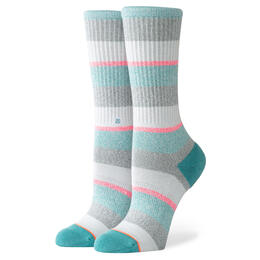 Stance Women's All That Crew Socks Grey