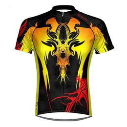 Primal Wear Men's Tribal Fire Cycling Jersey