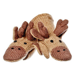 Knitwits Manny The Moose Mittens