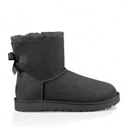 UGG Girl's Mini Bailey Bow II Boots Black